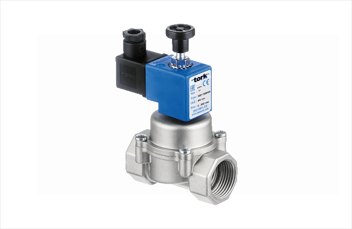 Manual Reset Natural Gas Solenoid Valves
